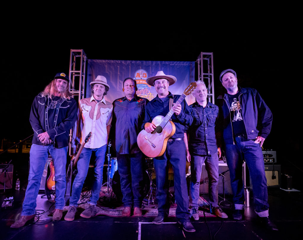 Country music in San Diego - Bad Hombres @ 1st Street Bar 11.14.19