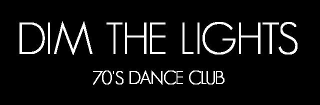 dim the lights tribute to 70's dance club