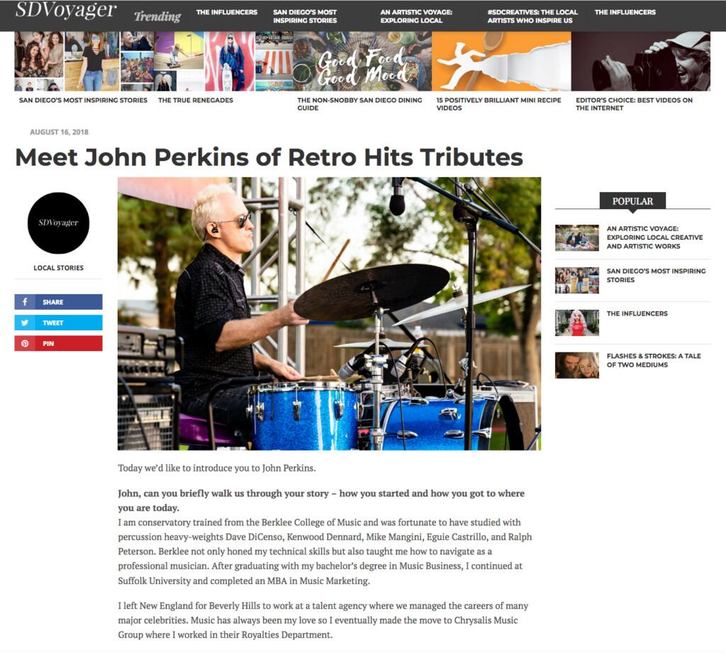 SDVoyager - john perkins RHT